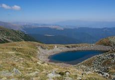 山的美丽的湖,罗马尼亚 免版税库存图片
