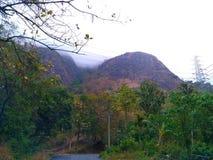 山的美好的图片 库存图片