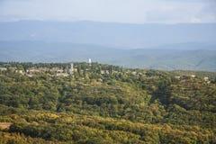 山的观测所 库存图片