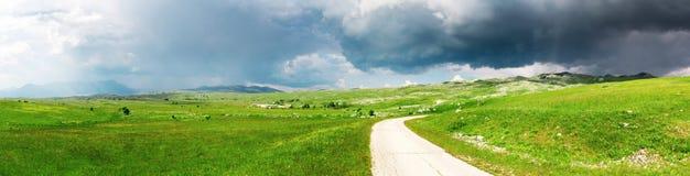 黑山的领域 图库摄影