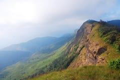 山的风景。 免版税库存照片