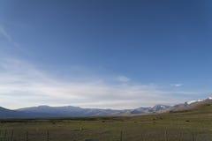 山的高处湖 库存图片