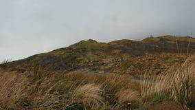 山的-苏格兰高地,英国游人 股票视频