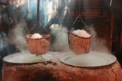 山盐风景,唯一的一座山在世界上 免版税库存照片