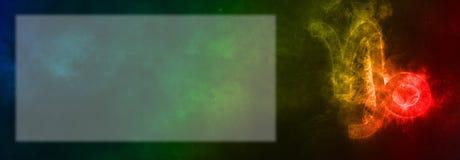 山羊座黄道带标志 山羊座占星标志 模板文本r 免版税库存照片