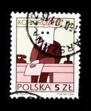 山羊座,黄道带签署serie,大约1996年 库存照片
