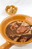 山羊汤中国式 库存照片