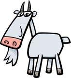 山羊牲口例证 免版税库存照片