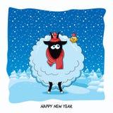 山羊的年 图库摄影