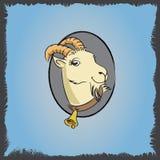山羊cketch 2 库存照片