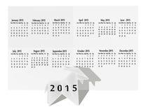 山羊origami的历年 免版税库存图片
