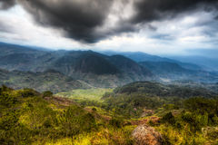 山脉中央山 图库摄影