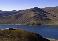 山脉在中国 免版税图库摄影