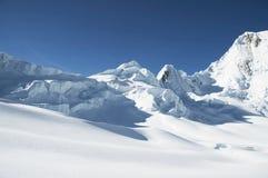 山脉山 库存图片