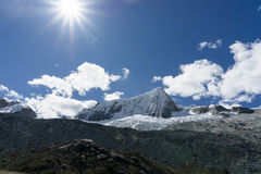 山脉布朗卡 库存图片