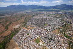 山脉景色,亚利桑那 库存图片