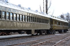 山脉铁路 库存照片