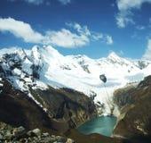 山脉高秘鲁 库存图片