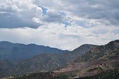 山脉 免版税库存照片