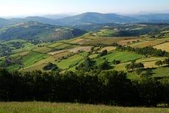 山脉Cantabrica 库存照片