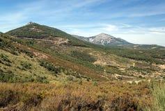 山脉de法国的山 免版税库存图片