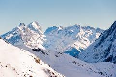 山脉titlis 库存图片