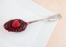 山莓果酱 图库摄影