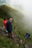 山行程 免版税图库摄影