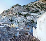 山西西里人的村庄 库存图片