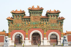 山西,中国- 2015年9月21日:法华寺 著名历史的S 免版税图库摄影