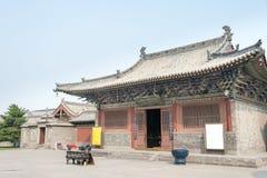 山西,中国- 2015年9月21日:法华寺 著名历史的S 库存图片