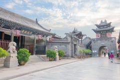 山西,中国- 2015年9月03日:Pi古城早晨视图  库存图片
