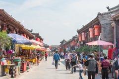 山西,中国- 2015年9月03日:Pi古城早晨视图  免版税图库摄影