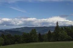 山视图 免版税图库摄影