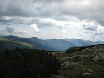 山视域 免版税库存照片