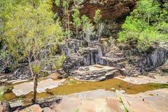 山谷峡谷澳大利亚 免版税图库摄影