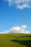 山谷横向英国约克夏 免版税库存照片