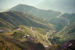 山路在智利 图库摄影
