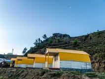 山阵营-喜马拉雅山 图库摄影