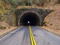 山隧道 免版税库存照片