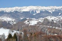山雪顶层 免版税库存图片