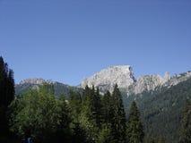 山顶在奥地利 免版税库存照片
