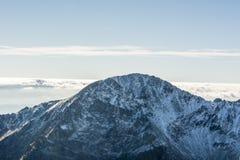 山顶在Tatras 免版税库存图片