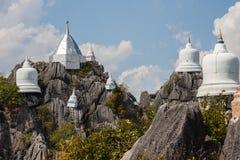 山顶的塔 库存照片