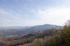 从山顶的看法 免版税库存图片