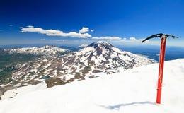 山顶的荣耀 免版税图库摄影