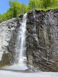 山顶面挪威在一个夏日 免版税库存图片