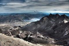 山顶Mt 圣海伦山 免版税库存图片