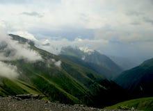 山风景全景 图库摄影