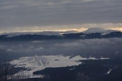 山风景在俄罗斯的国立公园 免版税库存图片